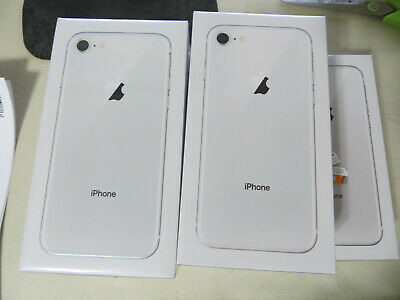 NEW SEALED Apple iPhone 8 64GB Silver AT&T/CRICKET 1 year APPLE Warranty!!!