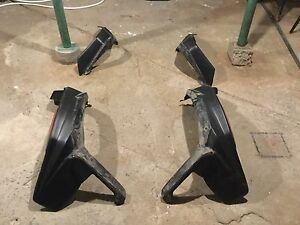 Can-Am renegade mud extender guards