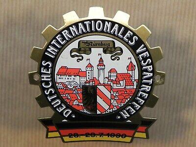 Vespa 1999 Nurnberg Meeting Badge