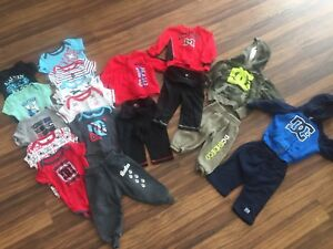 6-9 month boys brand name lot