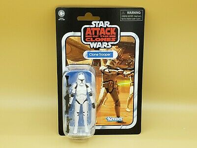 "2020 Hasbro Star Wars Vintage Collection Clone Trooper 3.75"" Action Figure MOC"