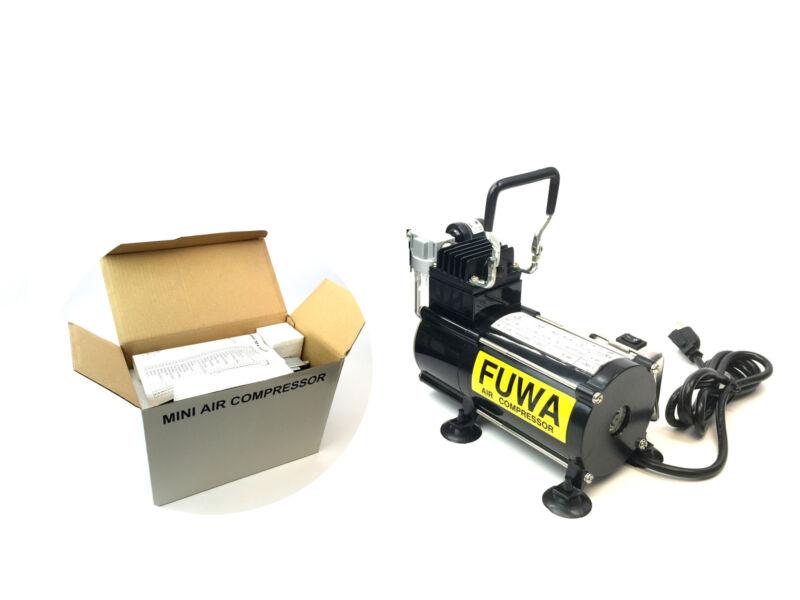 USA Fuwa 1/8 HP Airbrush Small Air Compressor For Nails Tattoo Tanning