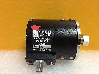 Weinschel 9426 320 To 800 Mhz 1 Watt Sma F 50 Ohm Attenuator New-unused