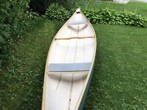 16 canoe with paddles