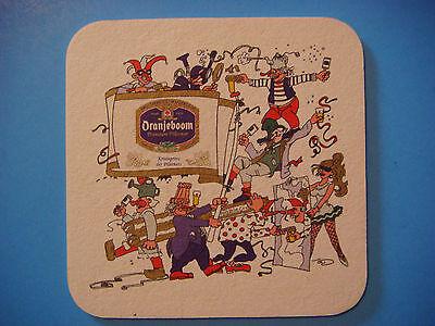 Beer Brewery Coaster ~ Brouwerij de Oranjeboom ~ Breda, NETHERLANDS; Closed 2004