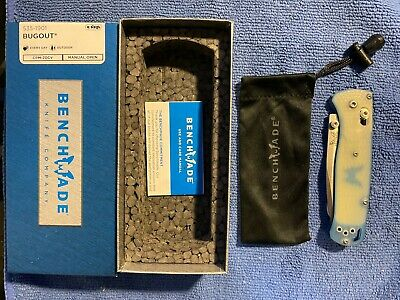 RARE Benchmade Bugout 535-1901 Limited Edition 20CV Steel Jade Scales NEW