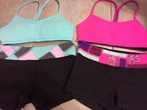 Ivivva and Lululemon Clothes.