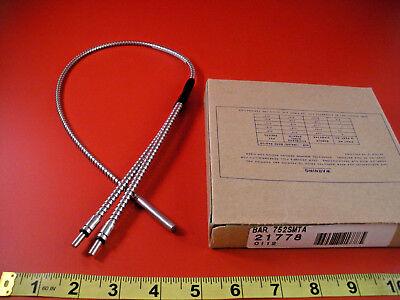 Banner Bar.752smta Sensor Stainless Steel Fiber Optic 21778 Nib New