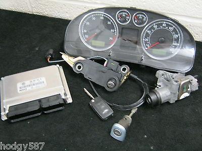 VW Passat B5.5 2.0 ALT Estate ECU Clocks and ignition lock set 3B0907557R