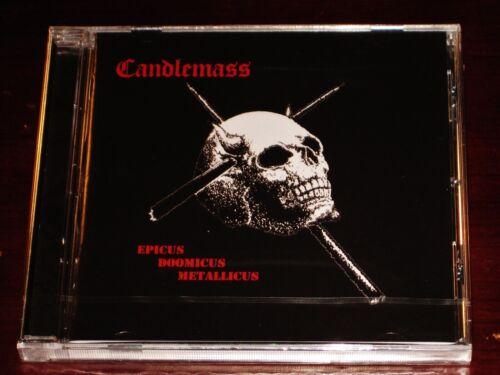 Candlemass: Epicus Doomicus Metallicus CD 2018 Peaceville EU CDVILED722 NEW