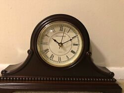 Vmarketingsite Mantel Clocks Wood Mantle Clock with Westminster Chime. This Wood