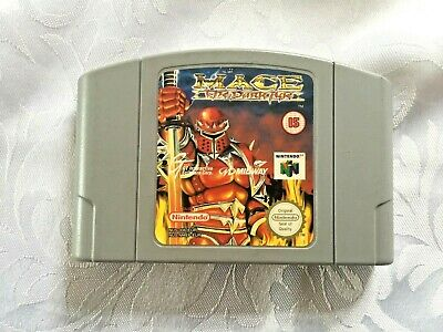 Mace - The Dark Ages** Official N64 Game Cart only**Pal Version