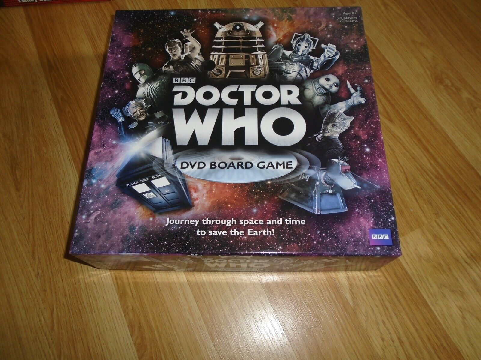 BBC DOCTOR WHO DVD BOARD GAME PAUL LAMOND GAMES