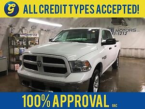 2016 Ram 1500  OUTDOORSMAN*CREW CAB*4WD*HEMI*FRONT TOW HOOKS*TRA