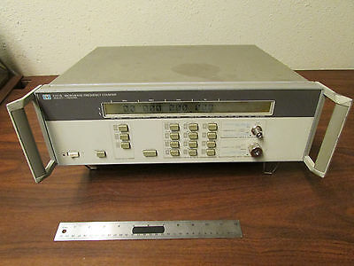 Hp Agilent Keysight 5351b Frequency Counter With Option 001 High Stability Teste