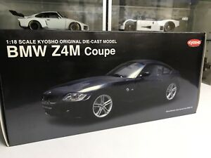 Kyosho 1/18 BMW Z4M coupe in black diecast