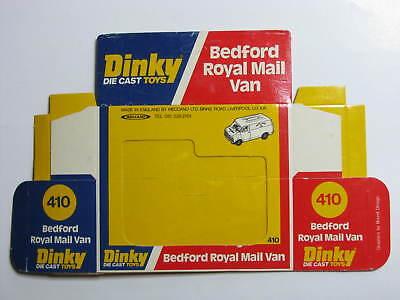 Dinky 410, Bedford Royal Mail Van - Only the Original Box / Boîte seule - MINT