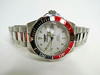 Invicta Men's Automatic Watch Pro Diver 40mm Black Red White 9404