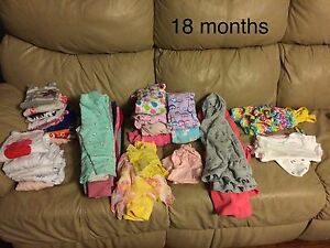 18 months girl clothing lot