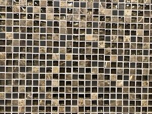 Glass/Marble/Metal mosaics on sale for less than $5.99 per sq ft