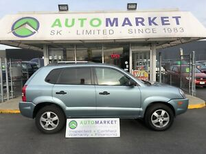 2008 Hyundai Tucson GLS 2.0 2WD HEATED SEATS!