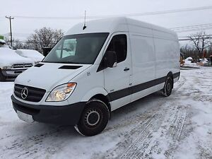 2013 Mercedes Sprinter raised roof
