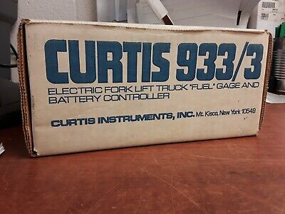 Curtis Electric Fork Lift Truck Fuel Gage And Battery Controller 9333