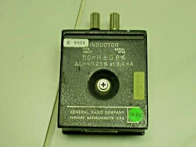 General Radio Co. 1841f Inductor