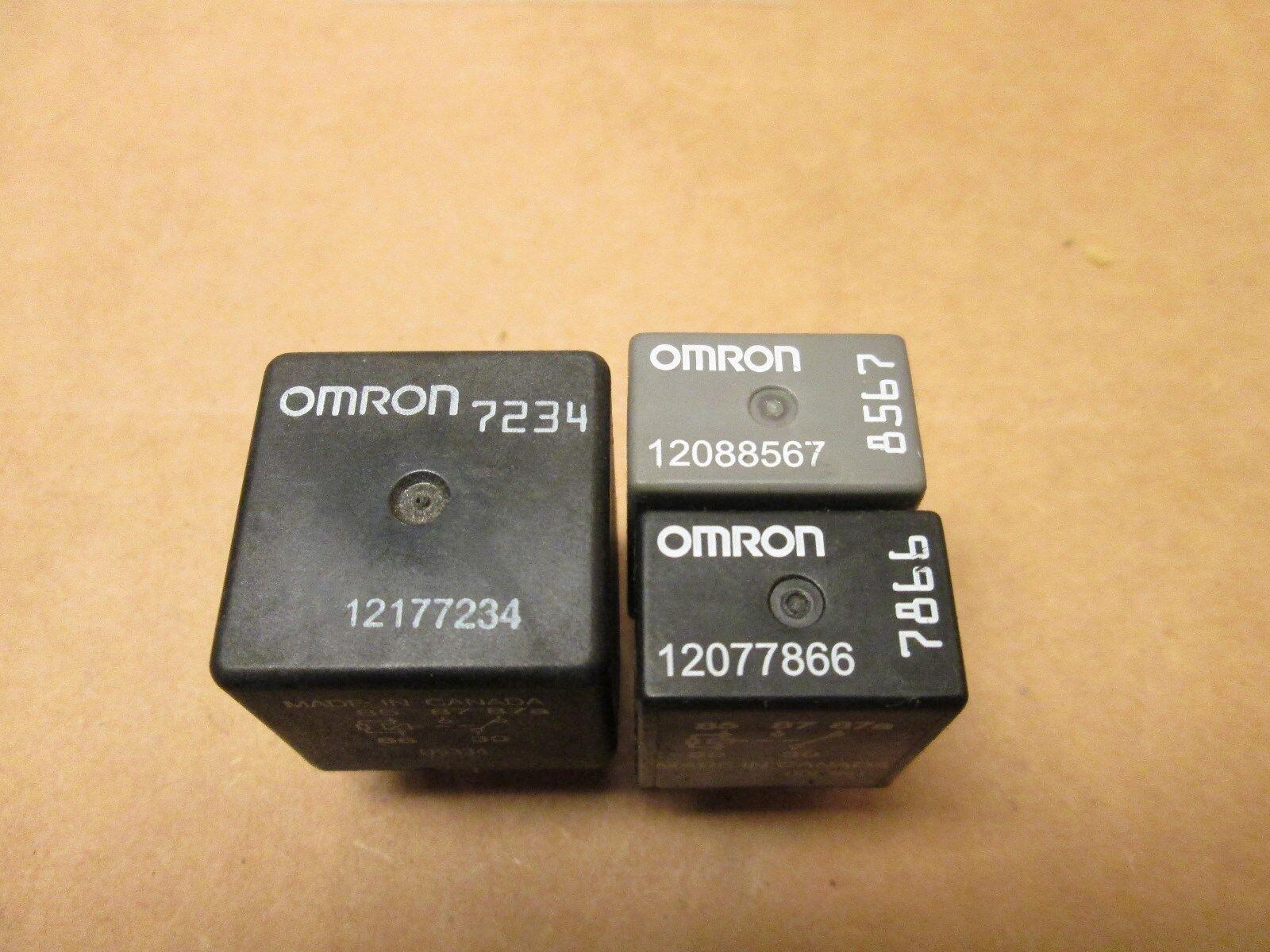 OMRON 7234 GM FAN RELAY 12177234 & 12077866 & 12088567 RELAY
