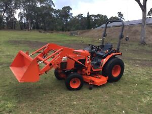 Kubota tractor Sydney City Inner Sydney Preview
