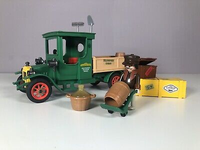 Playmobil Vintage Victorian Green Delivery Truck 5640 For 5300