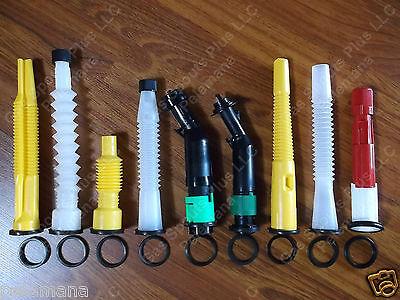 7 New Rubber Spout Gaskets Only   Scepter Easy Flo  Sceptre  Eco Spouts  Ez Pour