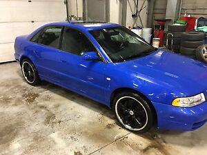 2001 Audi s4  Nogaro blue