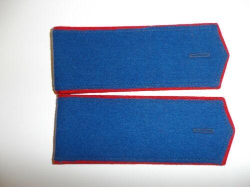 e4053p WW 1 Imperial Russian Czar Infantry shoulder boards dark blue red IR1E