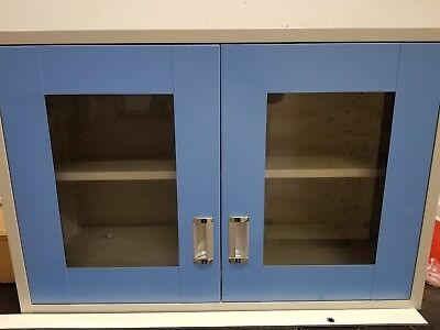 Wall Mount Cabinet Steel With Front Glass