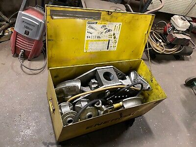 Enerpac Hydraulic Pipe Bender S-308 12-2 One Shot To 2-12 To 4 Sweep