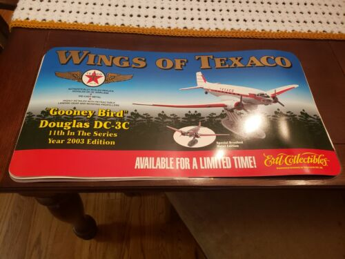 2003 ERTL - WINGS OF TEXACO- DOUGLAS DC-3C 11TH IN THE SERIES