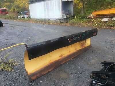 Heavy Duty Power Angle 8 Ft Snow Plow Hydraulic Truck Tractor