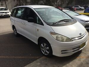 2002 Toyota Tarago Wagon Adamstown Newcastle Area Preview