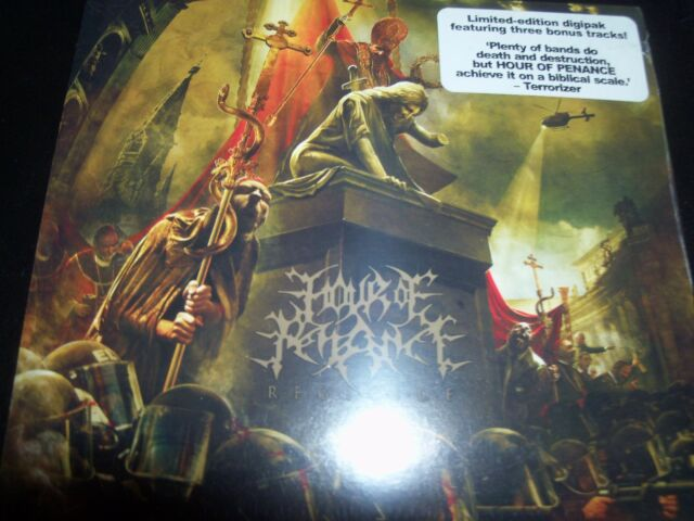 HOUR OF PENANCE - Regicide CD Limited Bonus Tracks Digipak CD - New