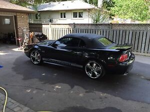 2001 mustang GT convertible 5 speed