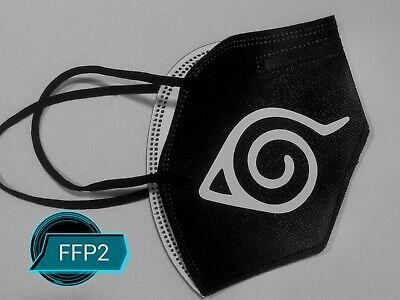 Angebote Mundschutz Maske Naruto Motiv, Anime Manga Cosplay, 5 Schichten, Filter