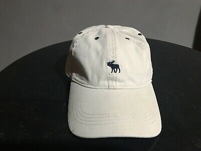 Abercrombie Fitch Moose Tan Baseball Cap