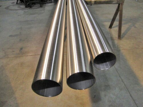 "Polished Stainless Round Tube - 3/4"" x .065 x 5"