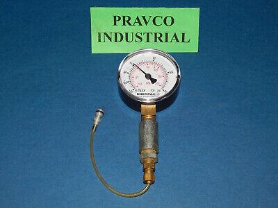 Enerpac Pressure Vacuum Gauge 30-0 In.hg 30psi -100-200kpa