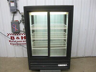 Beverage Air Mt15-54 Glass Sliding Two 2 Door Merchandiser Refrigerator Cooler