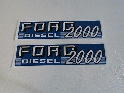 Ford Tractor Decal Set 2000 Diesel 1115-1575