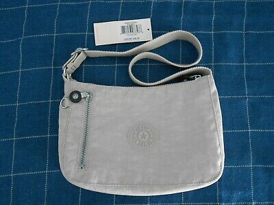 Kipling Nylon Bagel Beige Small shoulder Bag