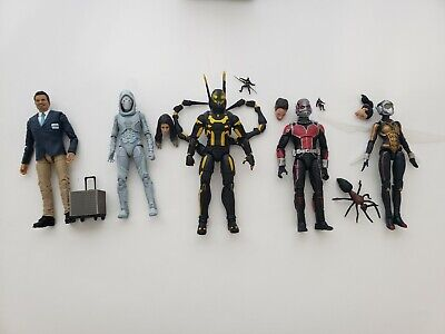 Marvel Legends Mcu Antman Wasp Ghost Yellowjacket Lot