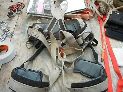 Pro Tree Climbing Harness Fall Protection Rock Gear Rappelling